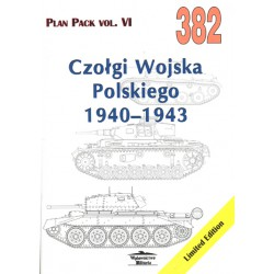 382 Tanks of Polish Army 1940–1943