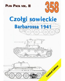358 Czołgi sowieckie Barbarossa 1941