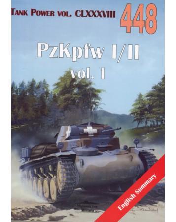 NR 448 PZKPFW I/II VOL. 1