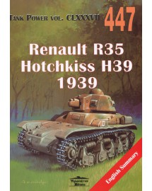 447 Renault R35 Hotchkiss H39 1939