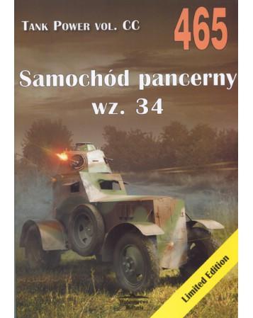 NR 465 SAMOCHÓD PANCERNY WZ. 34