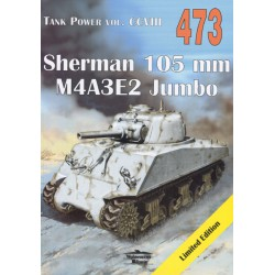 NR 473 SHERMAN 105 MM M4A3E2 JUMBO