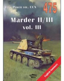 475 MARDER II/III VOL. III