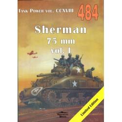 484 SHERMAN 75 MM VOL. 1