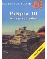 NR 498 PZKPFW III WARIANTY SPECJALNE/VARIANTS